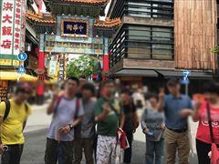 中華街入口での一枚